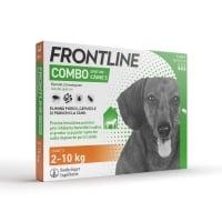 FRONTLINE Combo, spot-on, soluție antiparazitară, câini 2-10kg, 3 pipete