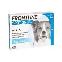 FRONTLINE Spot-On, soluție antiparazitară, câini 10-20kg, 3 pipete