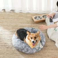 FEANDREA, pat câini și pisici, L, gogoașă, gri, 70 x 20 cm