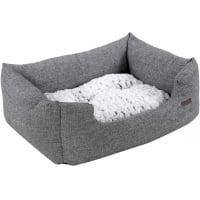 FEANDREA, pat câini și pisici, L, pernă reversibilă cu 2 fețe, gri, 80 x 60 x 26 cm