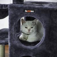 Feandrea Pisica Ansamblu de Joaca Gri Inchis, 85 cm