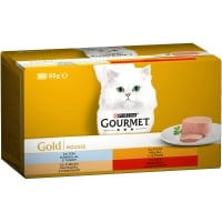 Gourmet Gold Mousse Multipack 4 x 85 g