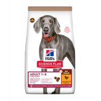 HILL'S SP No Grain, Adult L-XL, Pui, pachet economic hrană uscată fără cereale câini, 14kg x 2