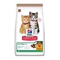 HILL'S SP No Grain, Kitten, Pui, hrană uscată fără cereale pisici junior, 1.5kg