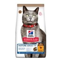 HILL'S SP No Grain, Senior, Pui, hrană uscată fără cereale pisici, 1.5kg