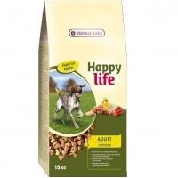 Versele Laga Happy Life Adult cu Pui, 15 kg