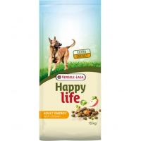 Versele Laga Happy Life Energy Adult cu Pui, 15 kg