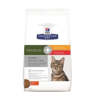 Hill's PD Feline Metabolic+Urinary Stress, 1.5 kg