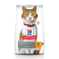 Hill's SP Feline Young Adult Sterilised Pui, 10 Kg