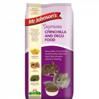 Hrana pentru chinchilla, Mr. Johnson's Supreme, Mix, 900g
