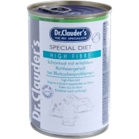 Dr. Clauder's Diet Dog High Fibre, 400 g