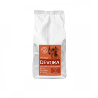 Devora Grain Free Dog  Mini Adult cu Caprioara, Somon si Rata, 7.5 kg