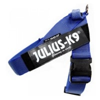 JULIUS-K9 IDC Color & Gray, ham bandă câini, 2XL, 40-70kg, albastru