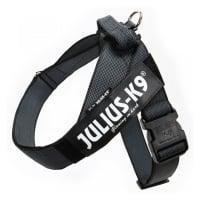 JULIUS-K9 IDC Color & Gray, ham bandă câini, 2XL, 40-70kg, negru