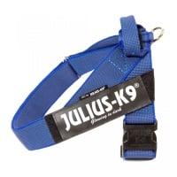 JULIUS-K9 IDC Color & Gray, ham bandă câini, L, 23-30kg, albastru