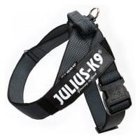 JULIUS-K9 IDC Color & Gray, ham bandă câini, L, 23-30kg, negru