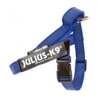 JULIUS-K9 IDC Color & Gray, ham bandă câini, S, 7-15kg, albastru
