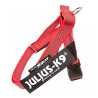 JULIUS-K9 IDC Color & Gray, ham bandă câini, S, 7-15kg, roșu