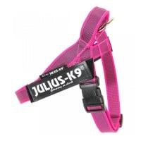 JULIUS-K9 IDC Color & Gray, ham bandă câini, S, 7-15kg, roz
