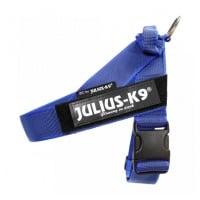 JULIUS-K9 IDC Color & Gray, ham bandă câini, M, 14-25kg, albastru