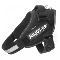 JULIUS-K9 IDC Power, ham caini, XL, 28-40kg, negru