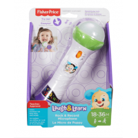 Jucarie Interactiva Laugh & Learn Fisher Price Microfon Canta si Inregistreaza