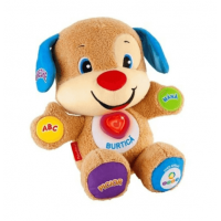 Jucarie de Plus Laugh & Learn Fisher Price Catelusul Vorbitor