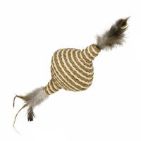Jucarie pentru Pisici Nobby Spinner cu Pene, 11 cm