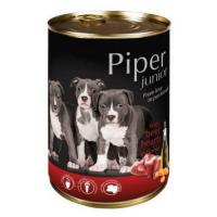 Piper Junior cu Inimi de Vita si Morcovi, 400 g