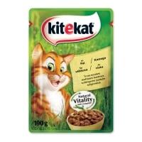 KITEKAT Natural Vitality, Pui, plic hrană umedă pisici, (în sos), 100g