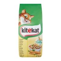 KITEKAT, Pasăre și legume, hrană uscată pisici, 12kg