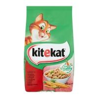 KITEKAT, Vită și legume, hrană uscată pisici, 1.8kg