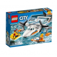 Lego City Great Vehicles Avion de salvare pe mare 60164