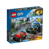 Lego City Police Goana pe teren accidentat 60172