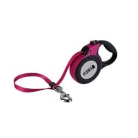 Lesa Retractabila Kong Reflect L, 5m-50 Kg, Fucsia