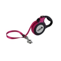 Lesa Retractabila Kong Reflect M, 5m-30 Kg, Fucsia