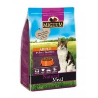 Meglium Cat Adult, Pui Si Curcan, 15 kg
