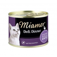 Miamor Deli Dinner Cat Pui si Rata 175g