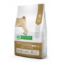 NATURES PROTECTION Adult Weight Control Sterilised, Pasăre cu Krill, pachet economic hrană uscată câini, controlul greutății, 12kg x2
