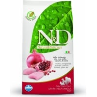 N&D Grain Free Adult  Pui si Rodie 7 kg
