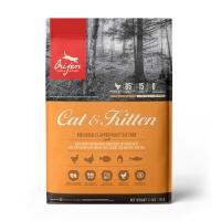 ORIJEN Cat & Kitten, pachet economic hrană uscată fără cereale pisici, 5.4kg x 2