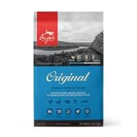 ORIJEN Original Adult Dog, pachet economic hrană uscată fără cereale câini, 11.4kg x 2