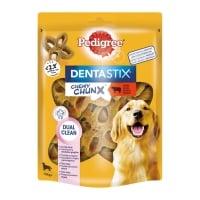PEDIGREE  DentaStix Chewy Chunx Maxi, recompense câini, Vită, 68g