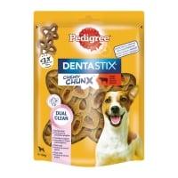 PEDIGREE  DentaStix Chewy Chunx Mini, recompense câini, Vită, 68g
