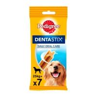 PEDIGREE DentaStix Daily Oral Care, pachet economic recompense câini talie mare, batoane, 7buc x 4