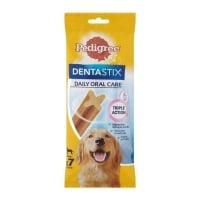PEDIGREE DentaStix Daily Oral Care, recompense câini talie mare, batoane, 7buc