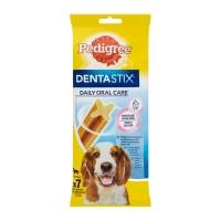 PEDIGREE DentaStix Daily Oral Care, recompense câini talie medie, batoane, 7buc
