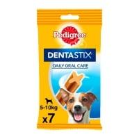 PEDIGREE DentaStix Daily Oral Care, pachet economic recompense câini talie mică, batoane, 7buc x 4
