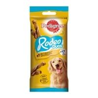 PEDIGREE Rodeo Duos, recompense câini, batoane, Pui și Bacon, 7buc