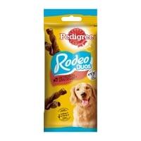PEDIGREE Rodeo Duos, recompense câini, batoane, Vită și Brânză, 7buc